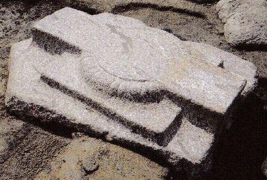 山田寺跡 南面回廊の礎石