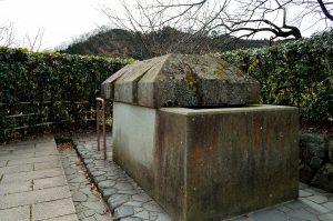 130126 石舞台古墳 石棺(復元)