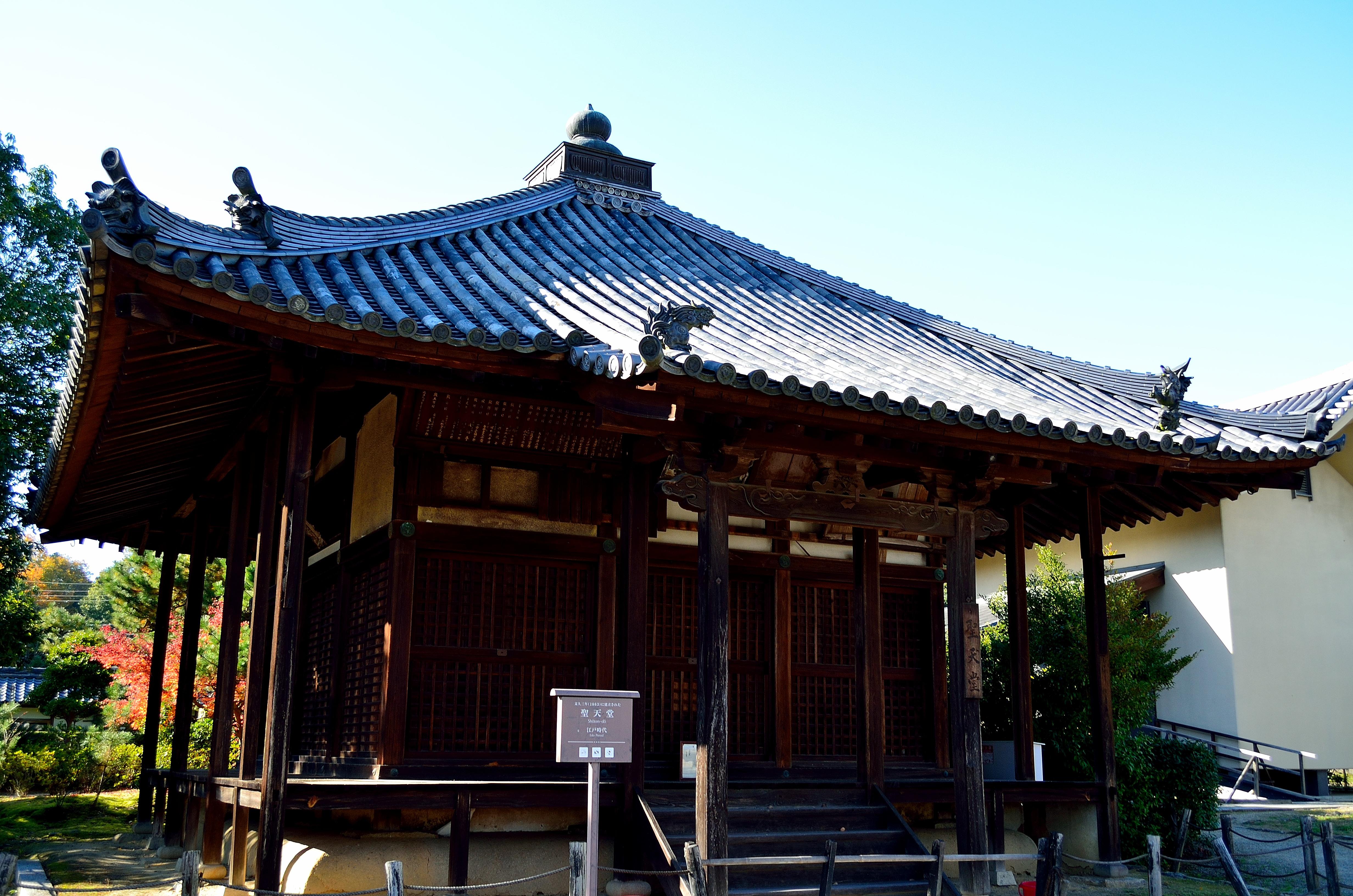 法起寺 聖天堂
