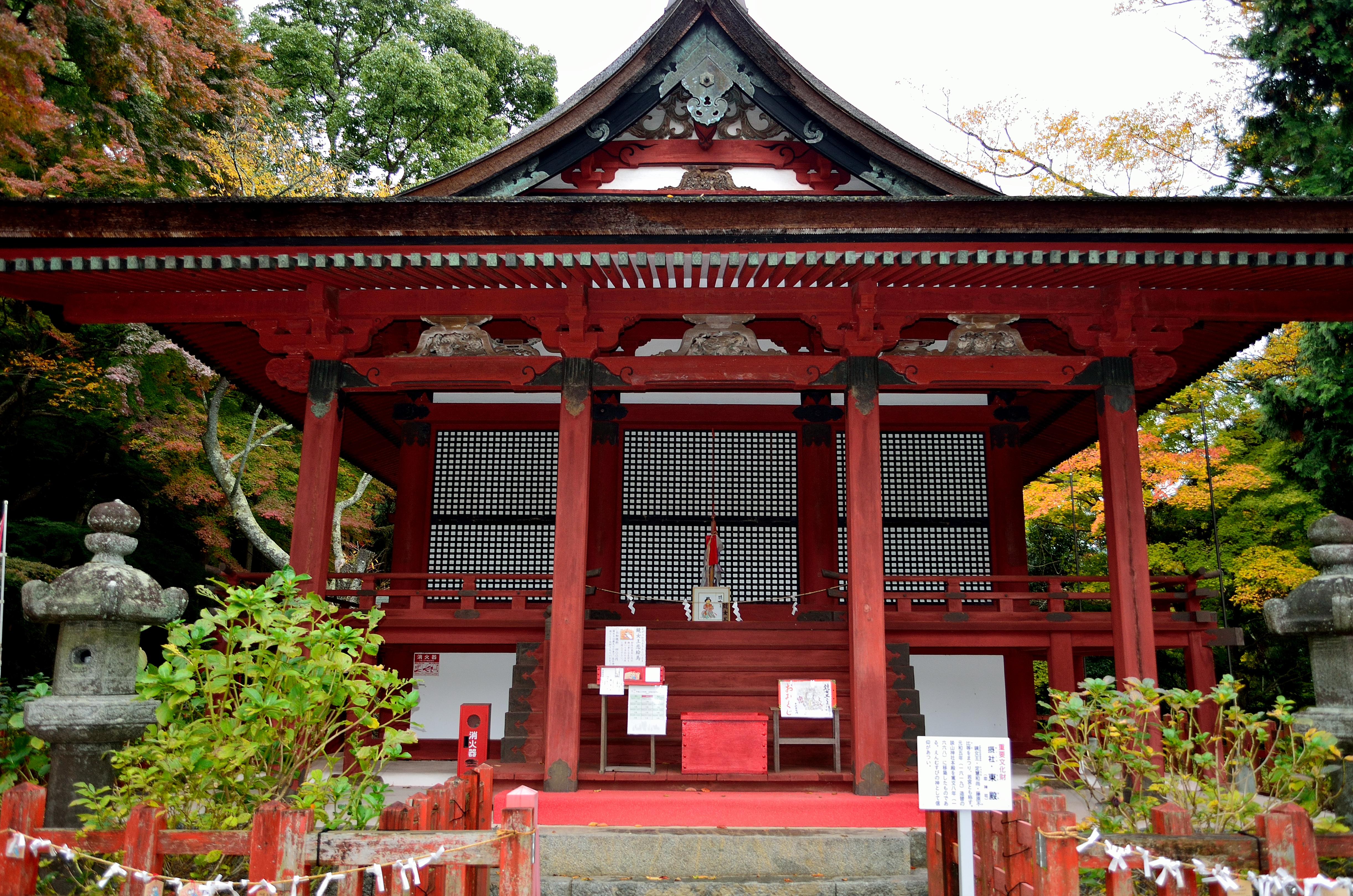 談山神社末社 東殿