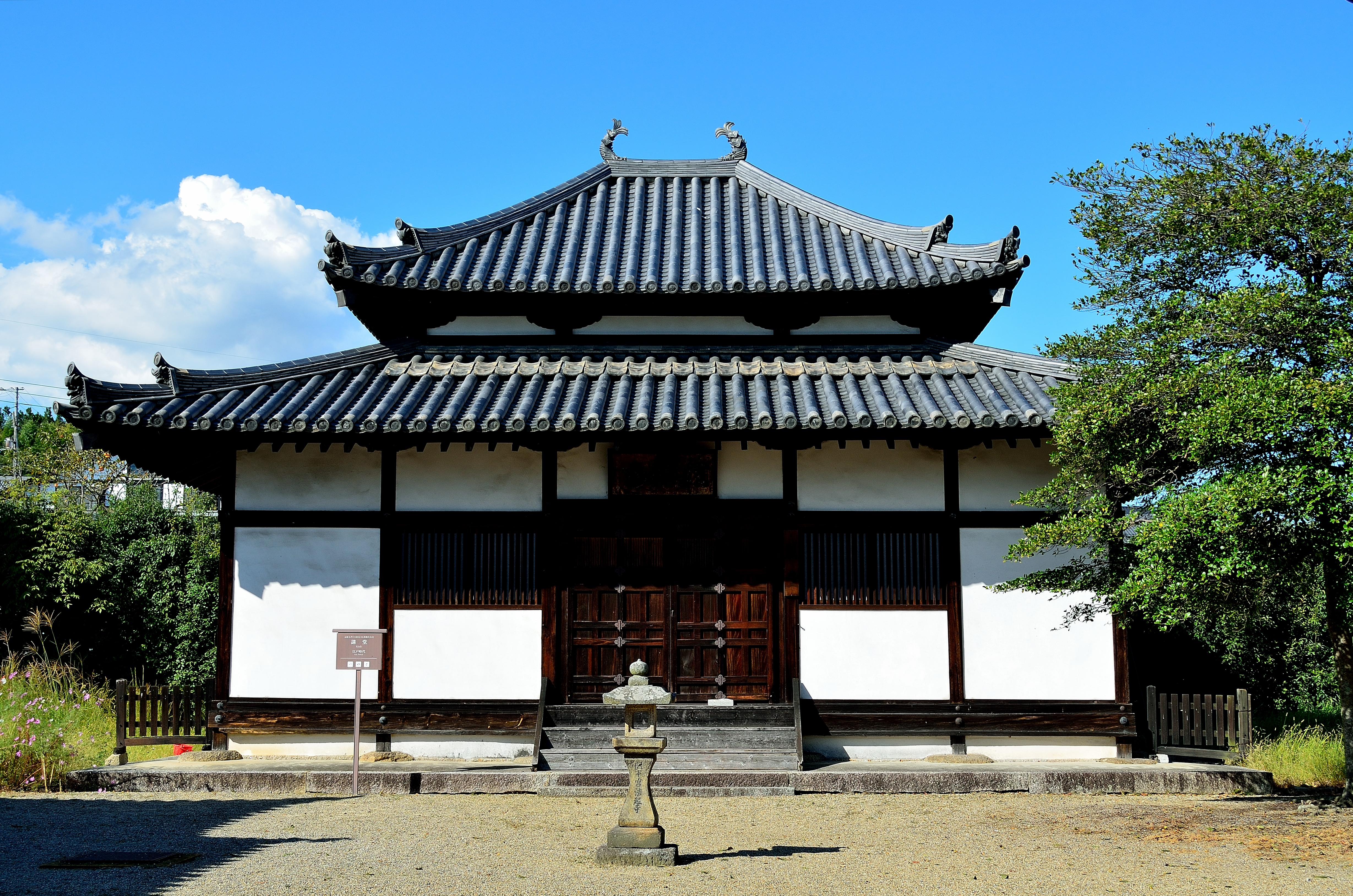 法起寺 講堂(本堂)