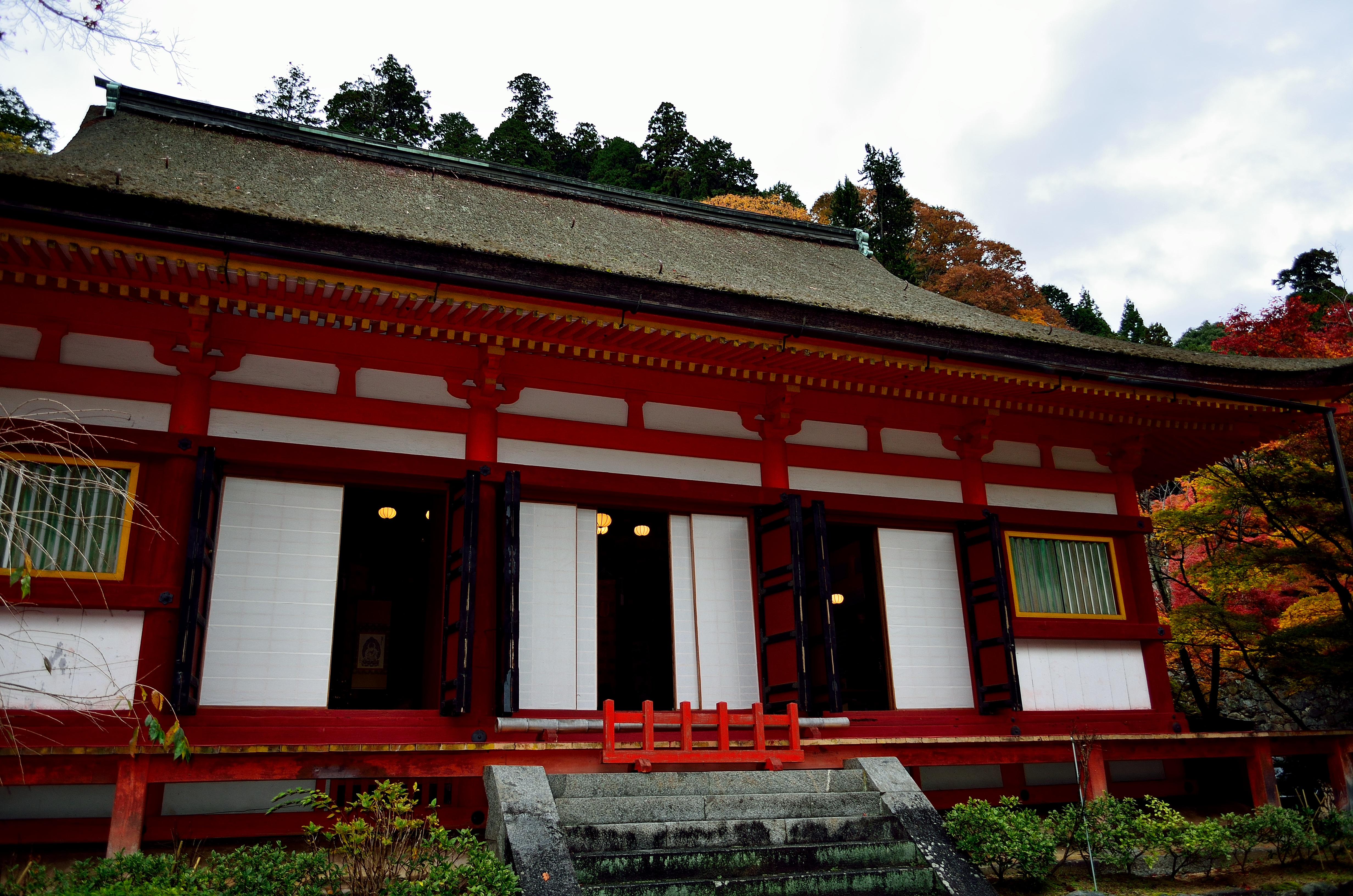 談山神社 神廟拝所