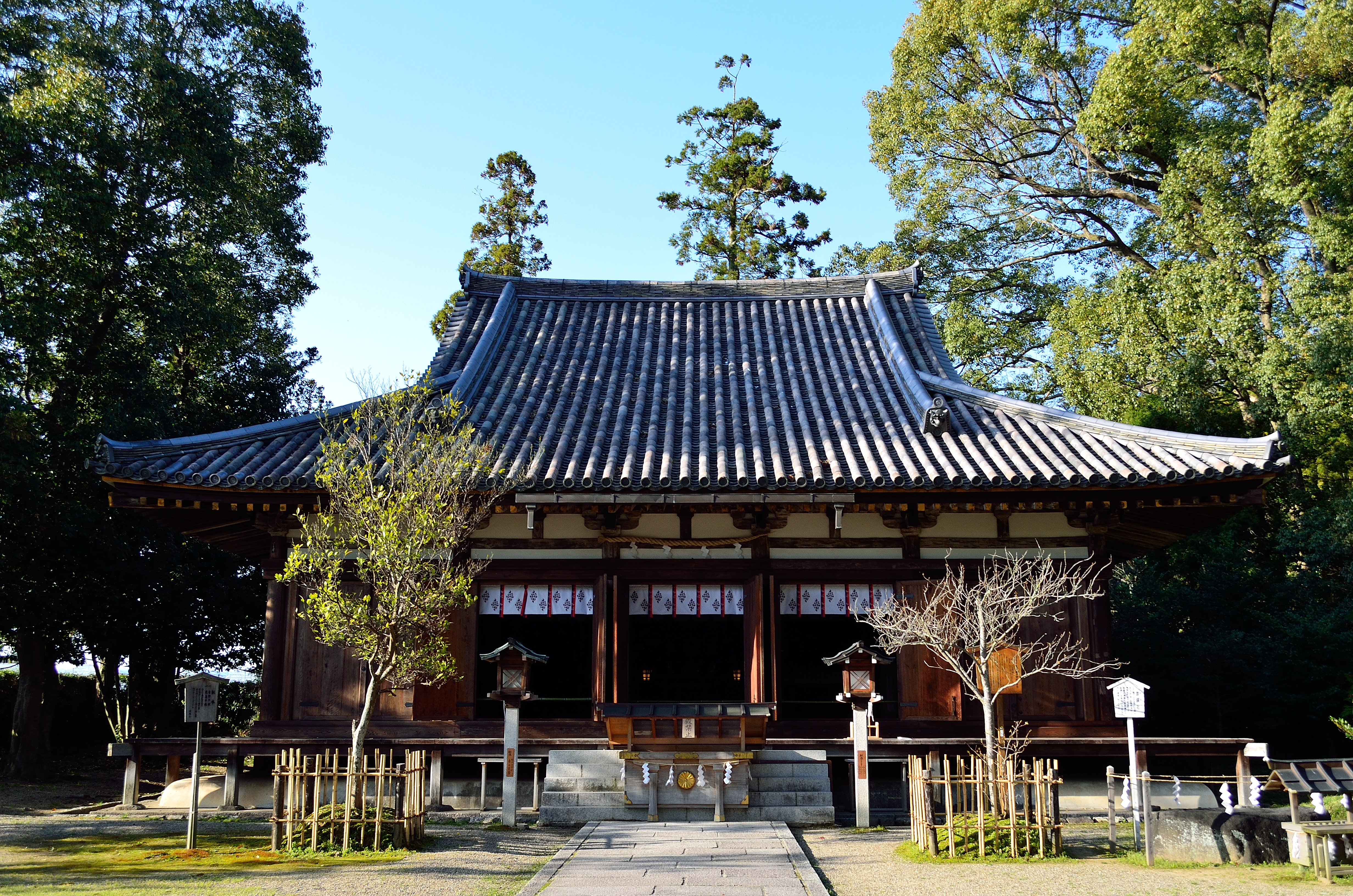 大直禰子神社 社殿