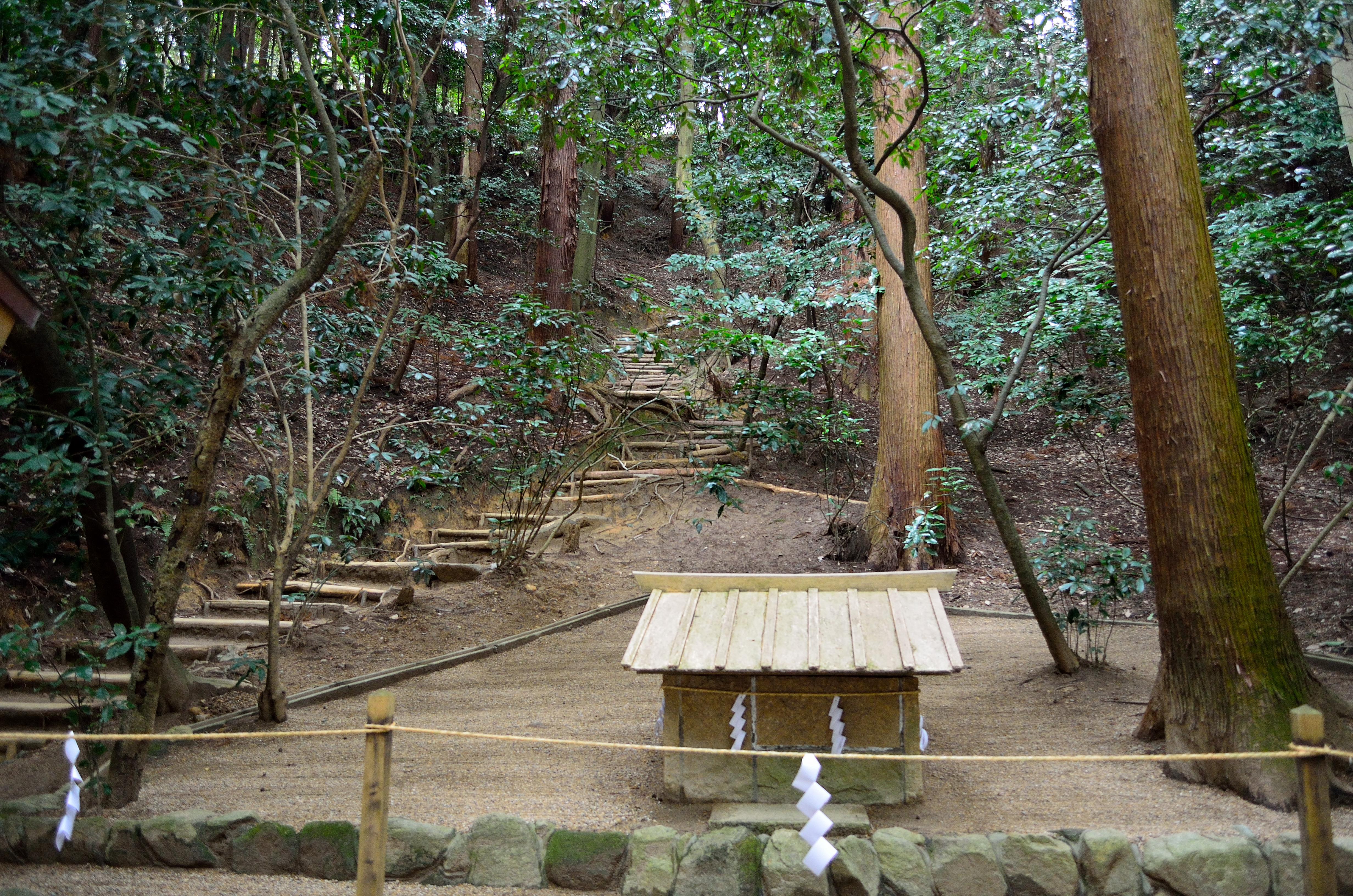 大神神社 狭井神社 登拝口の様子