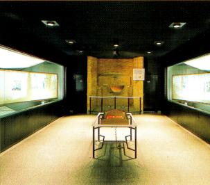 高松塚古墳壁画館内部