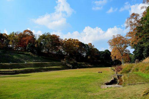 飛鳥歴史公園 高松塚周辺地区 芝生広場
