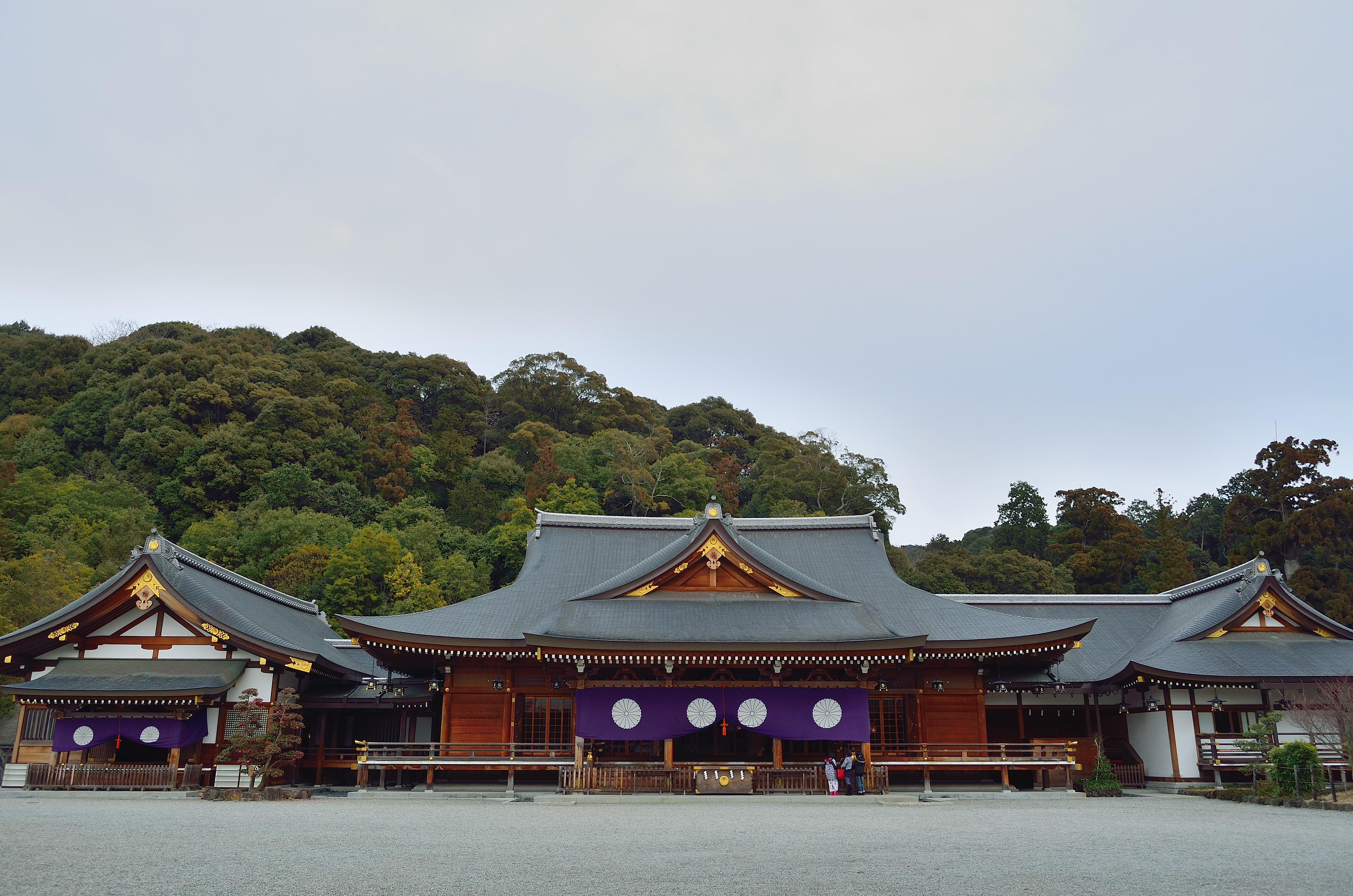 大神神社 祈祷殿・儀式殿・参集殿