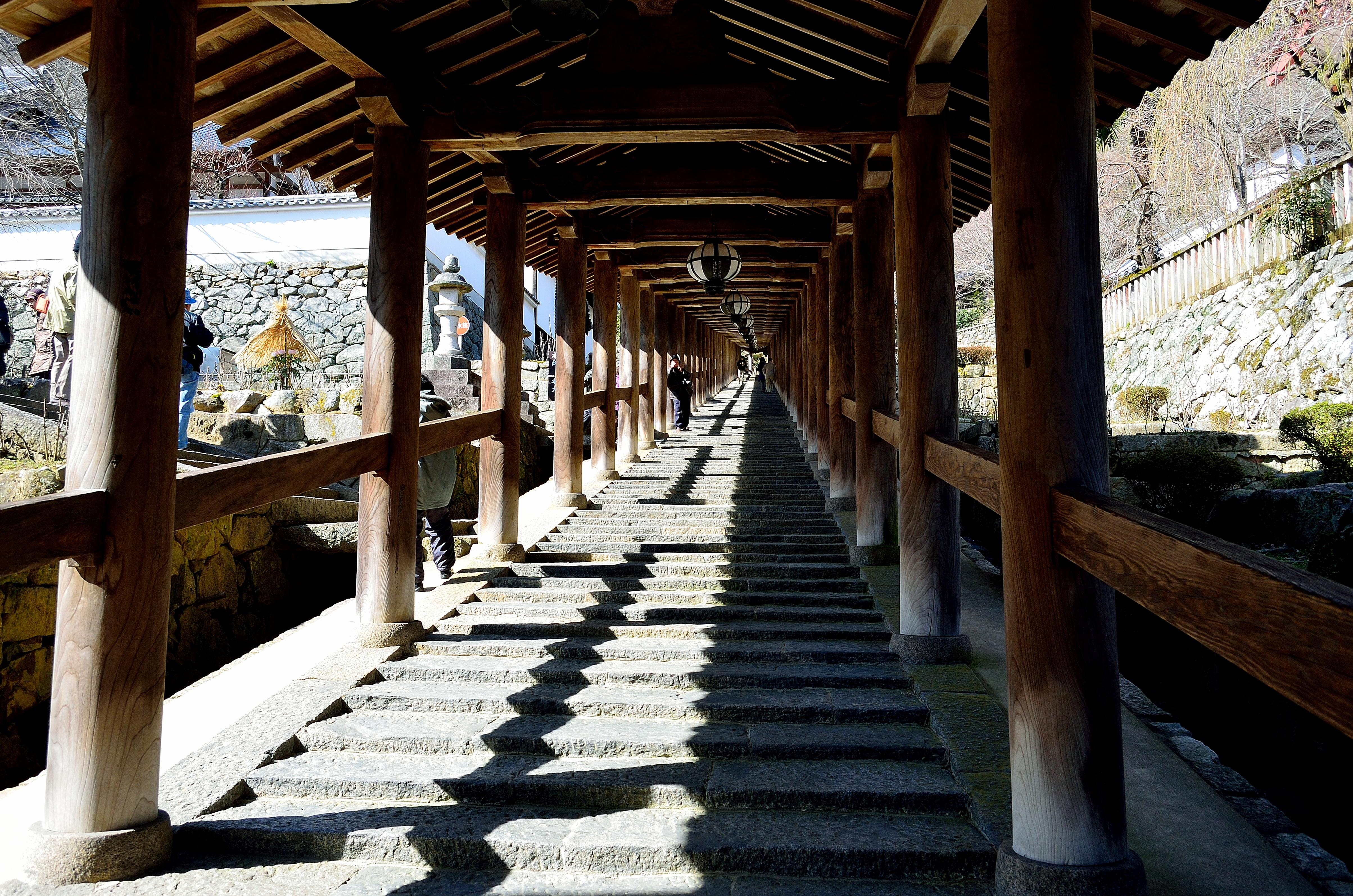長谷寺 登廊