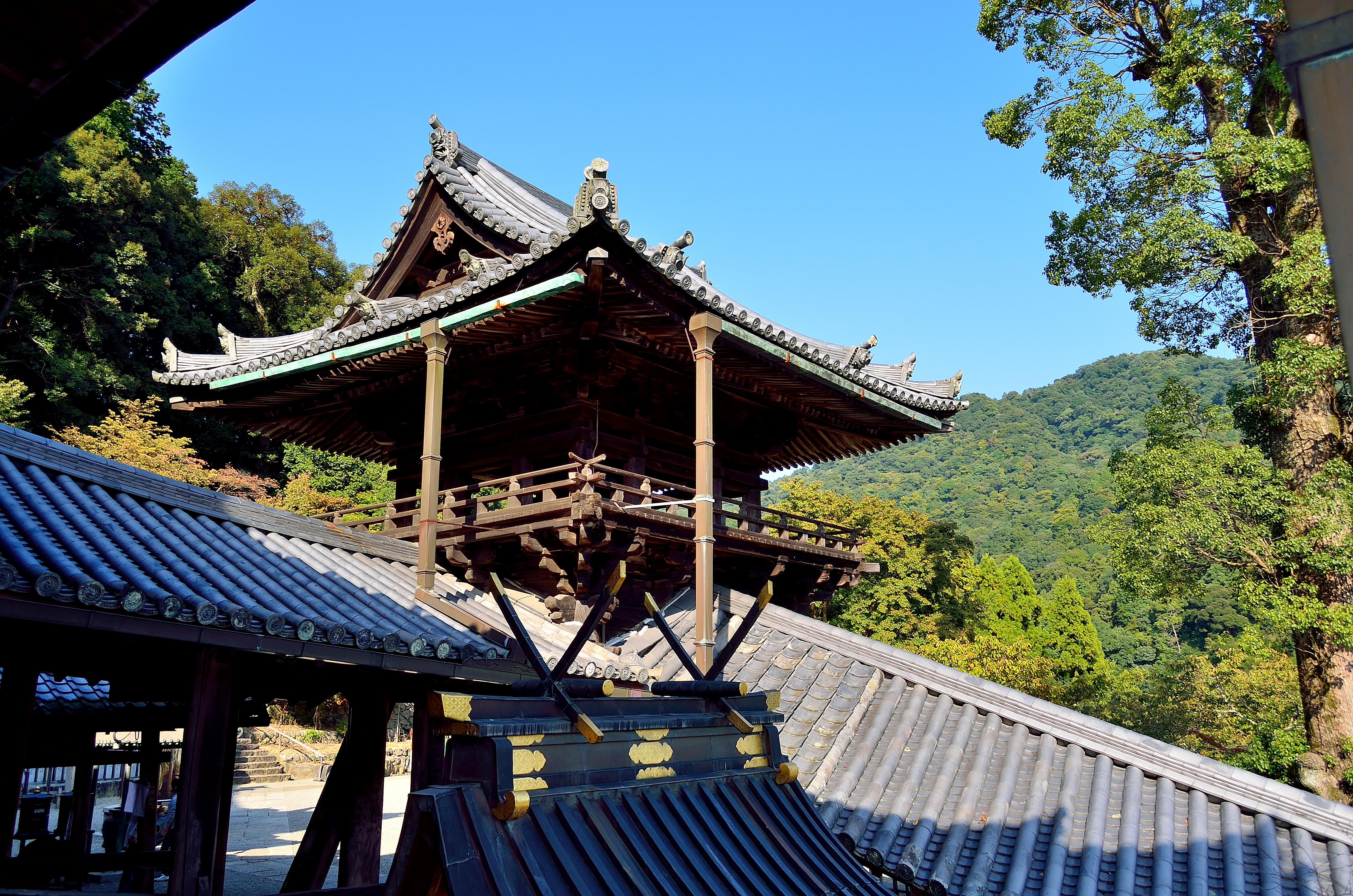 長谷寺 鐘楼・繋廊