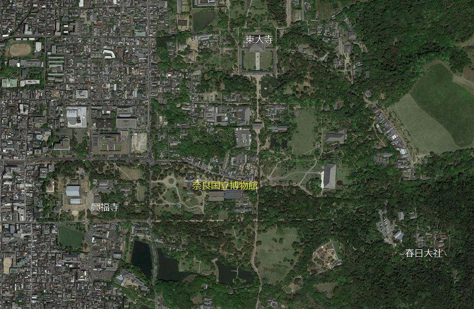 【位置図】奈良国立博物館