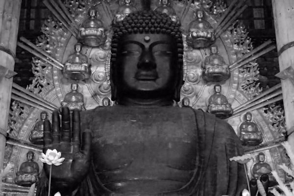 東大寺大仏殿 盧舎那仏坐像