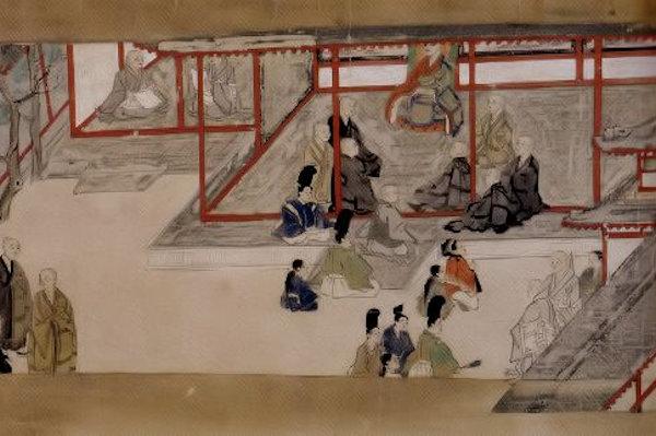唐招提寺 東征伝絵巻(巻5第5段)