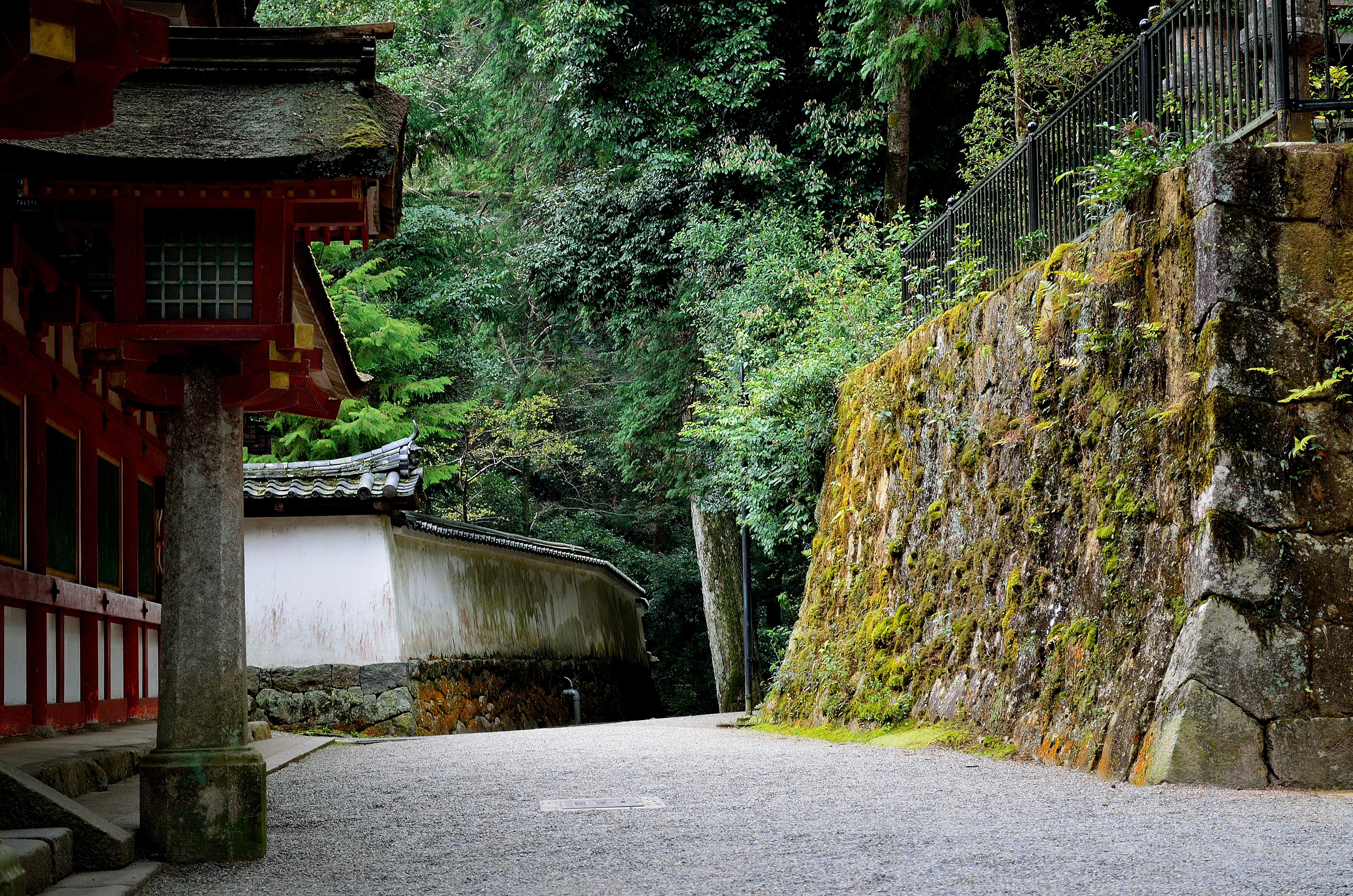石上神宮 楼門前からの風景