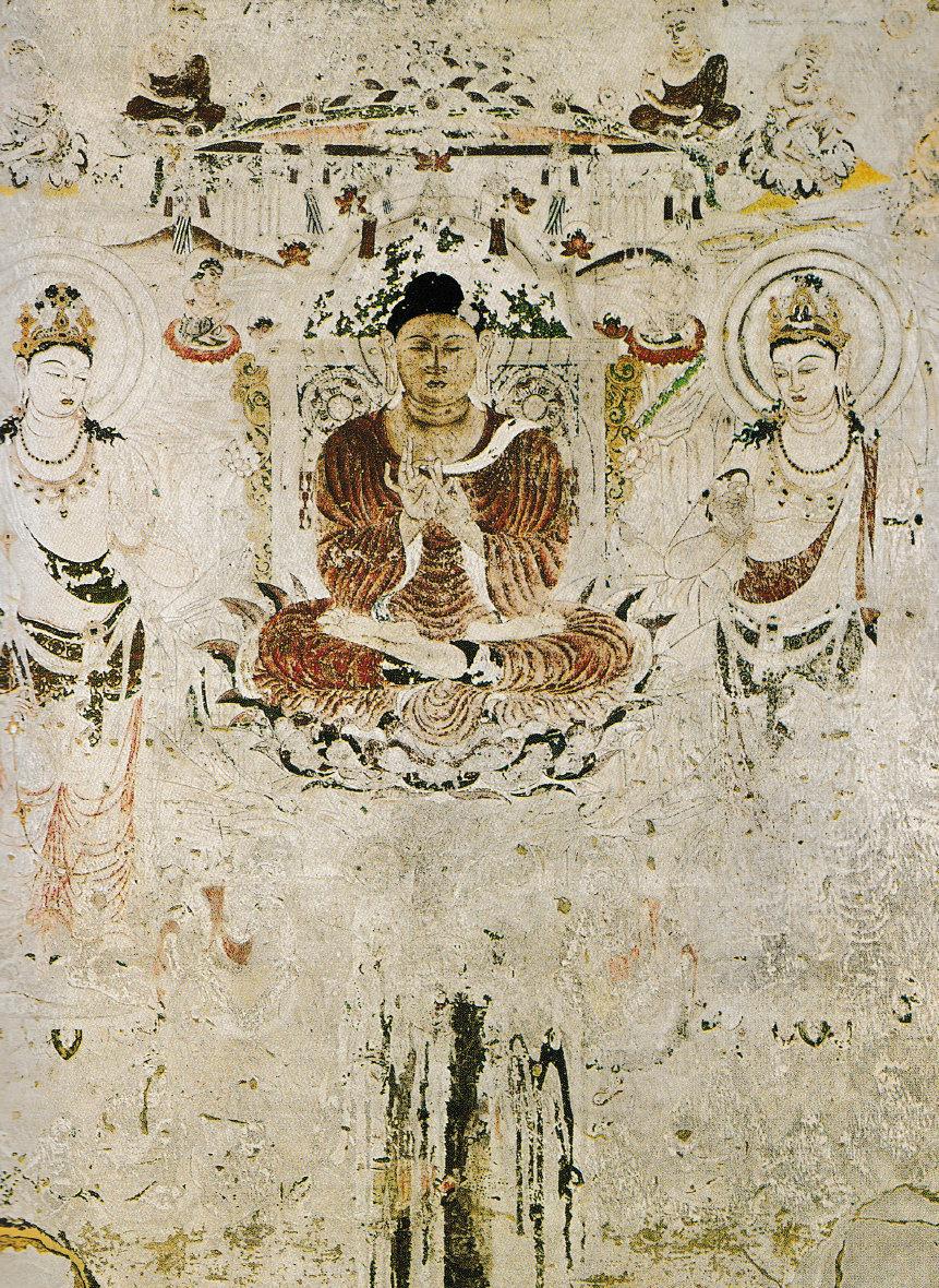 法隆寺金堂 外陣旧壁画6号壁