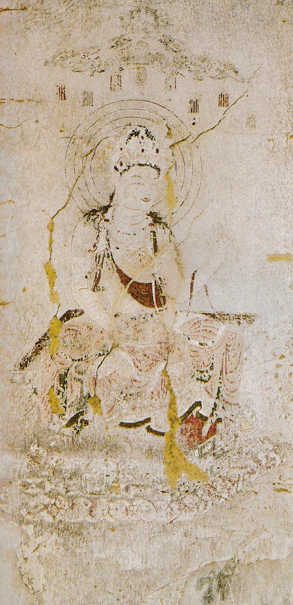 法隆寺金堂 外陣旧壁画8号壁