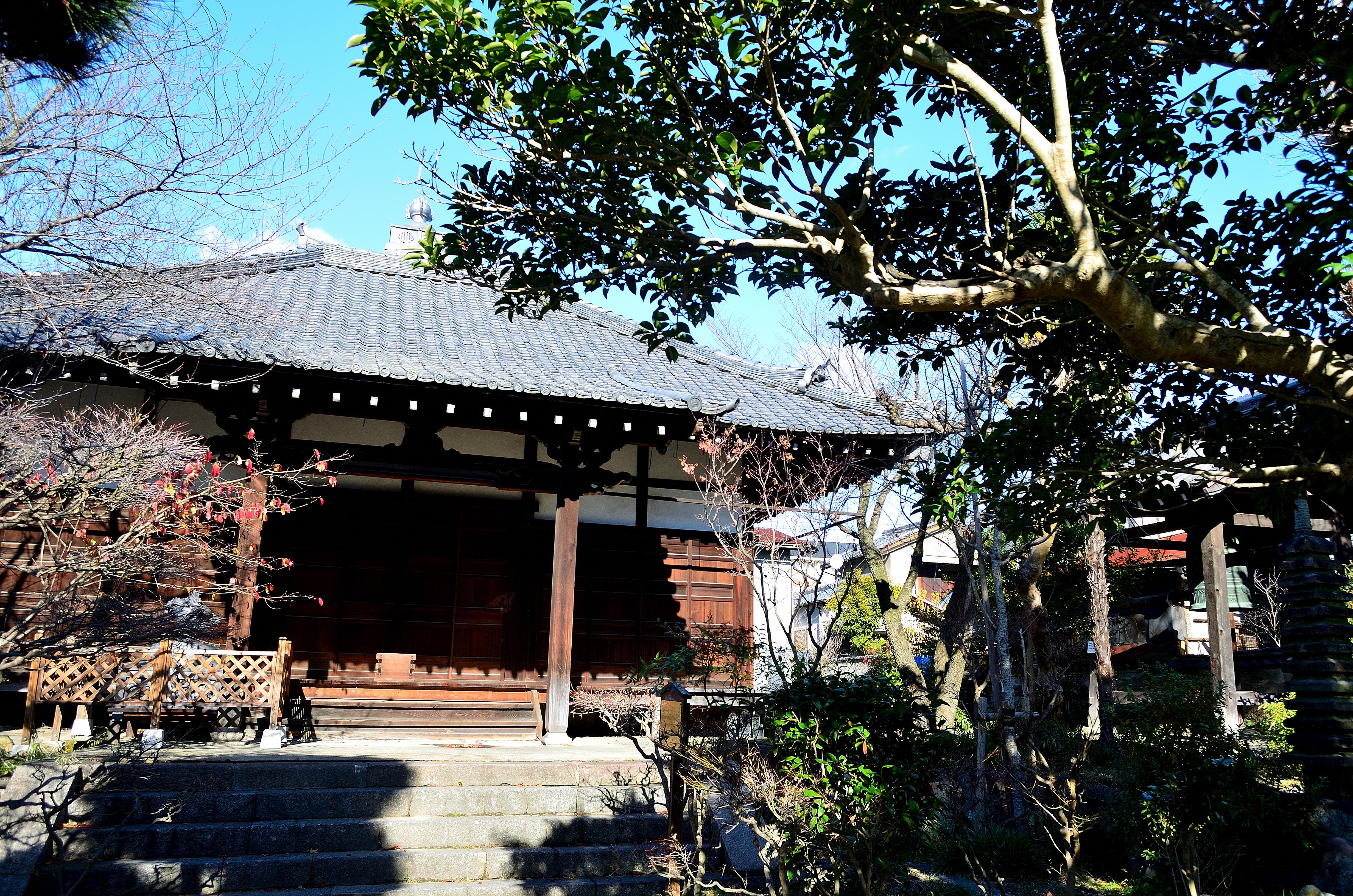 元興寺(塔跡)小堂