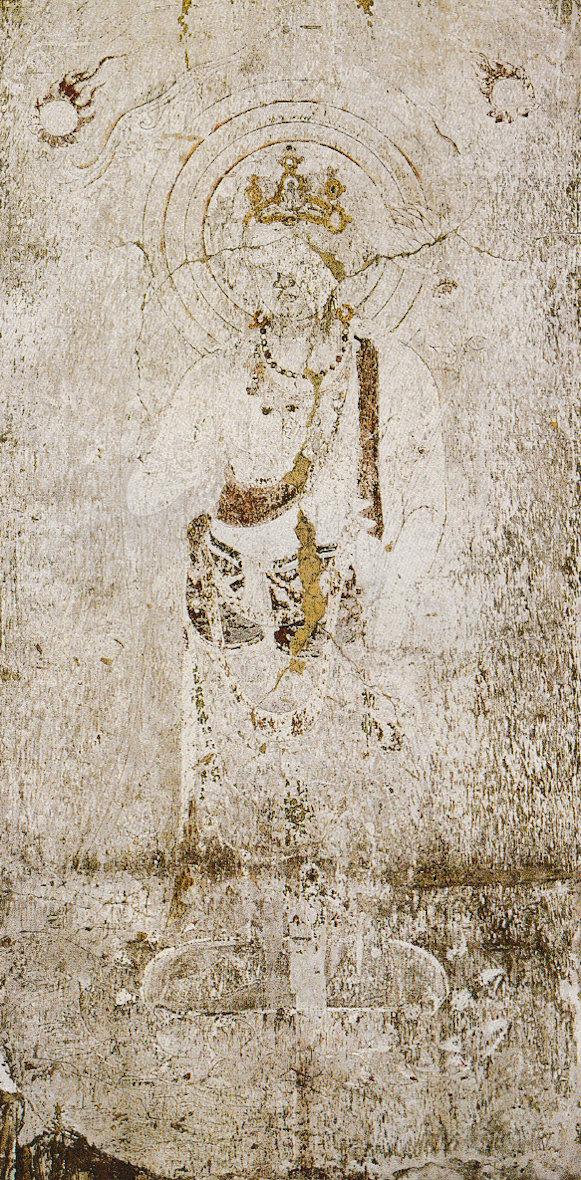 法隆寺金堂 外陣旧壁画7号壁