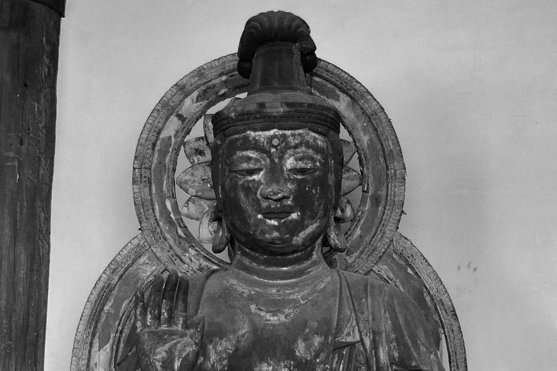 喜光寺 観世音菩薩坐像