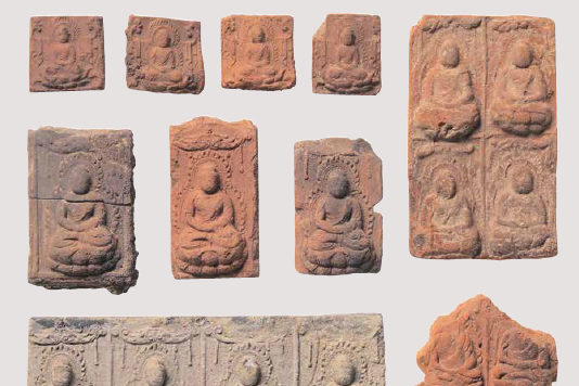 山田寺跡 塼仏