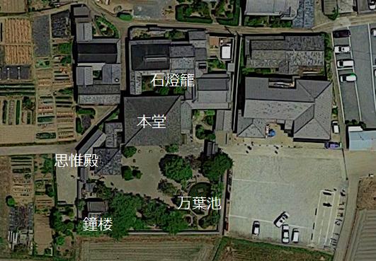 飛鳥寺 境内図